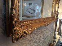 X LARGE Antique GOLD Shabby Chic Ornate Decorative Wall ...